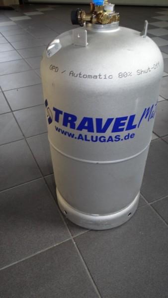 Alu Tankflasche 14kg Eingebaut in WOMO