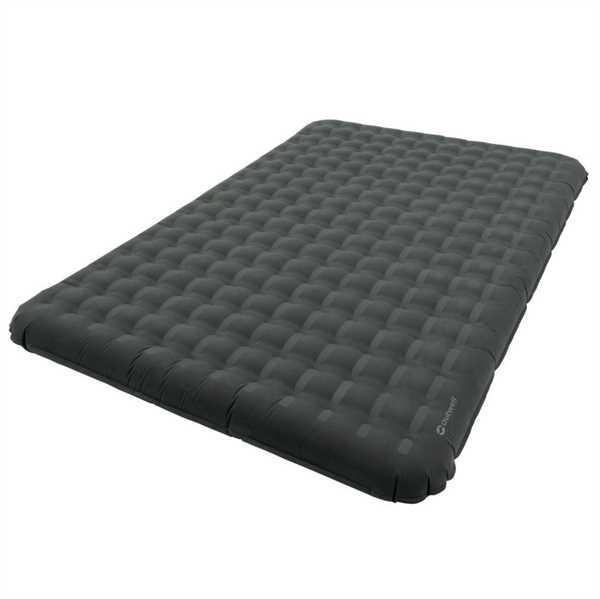 Flow Airbed Double 200 x 140 x 20 cm, schwarz
