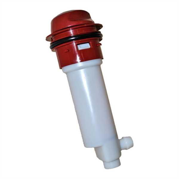 Kolbenpumpe rubinrot für Porta Potti Excellence