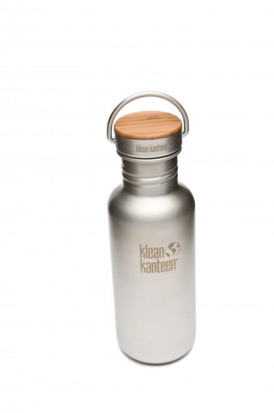 Trinkflasche M mit Bambus Deckel 532 ml