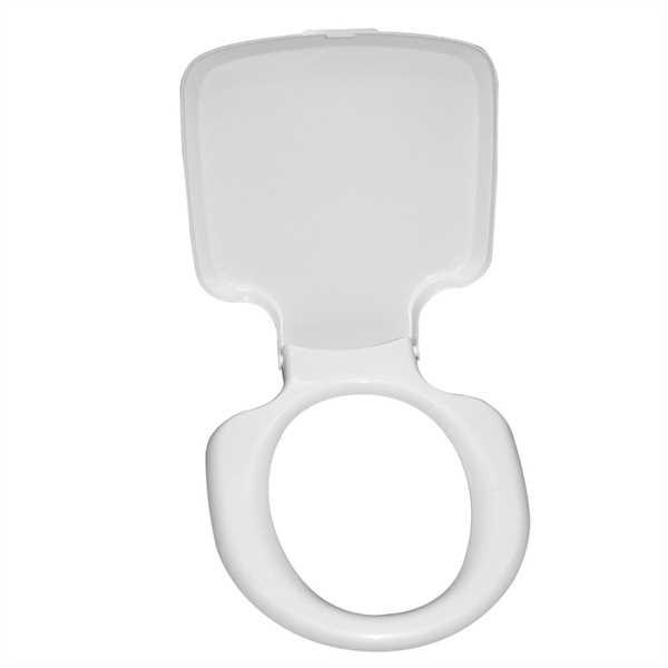 Toilettensitz mit Deckel signalweiß für Porta Pott