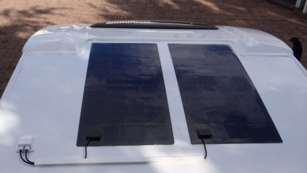 SolarAnlage 200 wp für WOMO