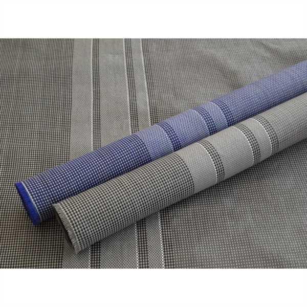Zeltteppich Briolite Standard stahlgrau 250 x 300