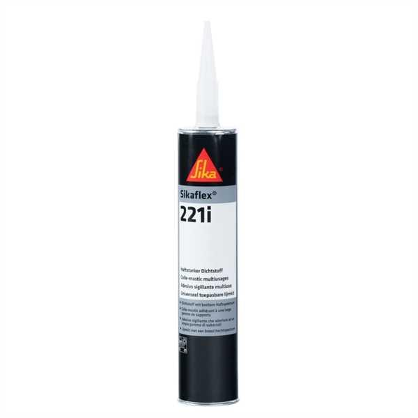 Sikaflex 221i schwarz, 300 ml Dichtstoff