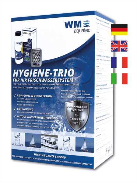 Hygiene-Trio für Tanks bis 160 L Trinkwasserhygien