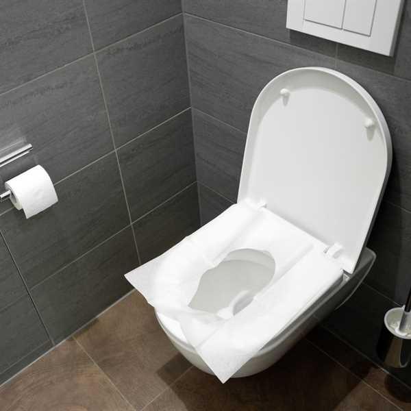 WC-Sitzauflage 25 Stück