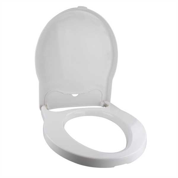 Toilettensitz mit Deckel granit für Porta Potti Ex