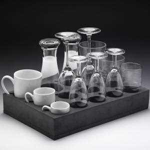 Universal Glas-/Tassenhalter 33 x 24,5 x 6 cm