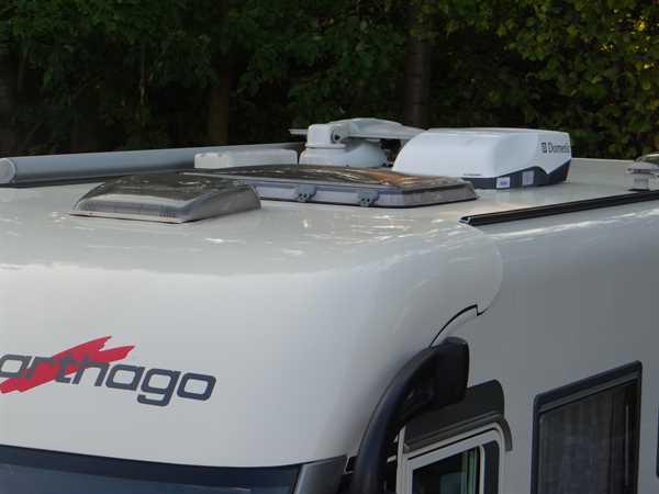 Klimaanlage Dometic Freshjet 2200 eingebaut