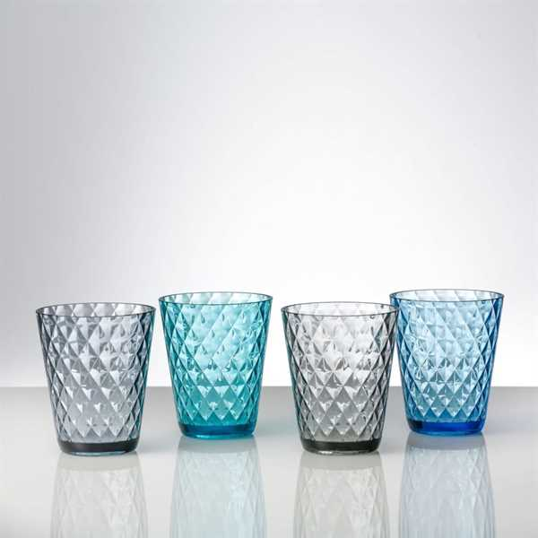 Trinkglasset Diamond 4er Set