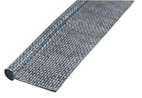 Textilkeder grau ø 7 mm, 3 m lang