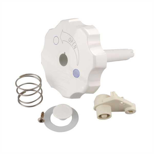 Spülknopf weiß für Cassetten Toilette C2