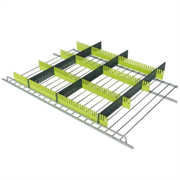 Purvario Stauleiste für Kühlschränke 8er-Set