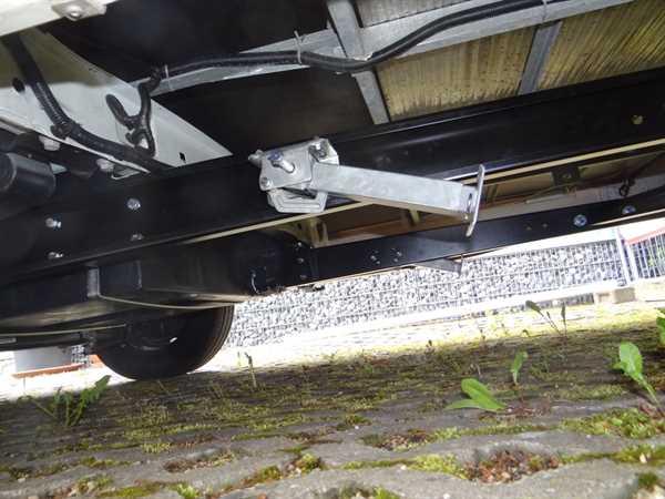 Kurbelstütze eingebaut Teilintegrierte Fahrzeuge