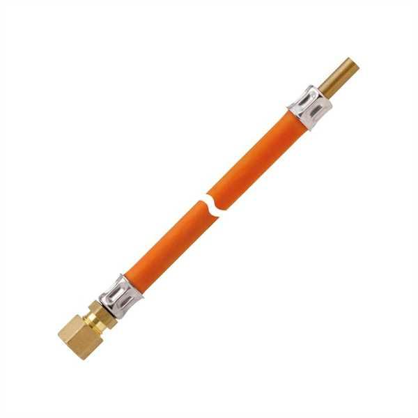 Mitteldruck-Schlauchleitung PS 10 bar 600 mm, RVS