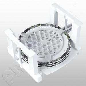 Tellerhalter für 6 Teller ausziehbar