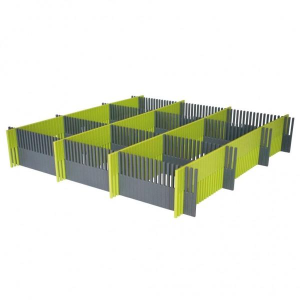 Purvario Stauleiste für Schubladen 8er-Set