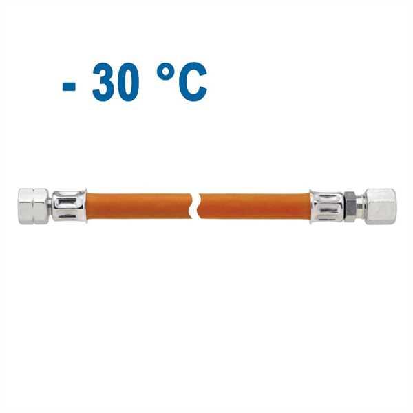 Mitteldruck-Schlauchleitung 450 mm RVS 8, SB-verpa