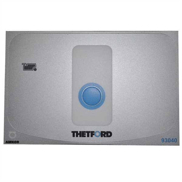 Abdeckung für Bedienelement für Toilette C262/263