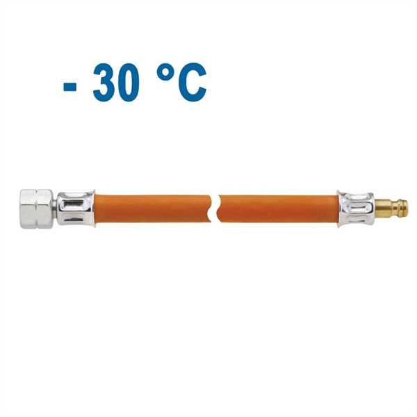 Mitteldruck-Schlauchleitung 300 mm 1/4 Zoll links,