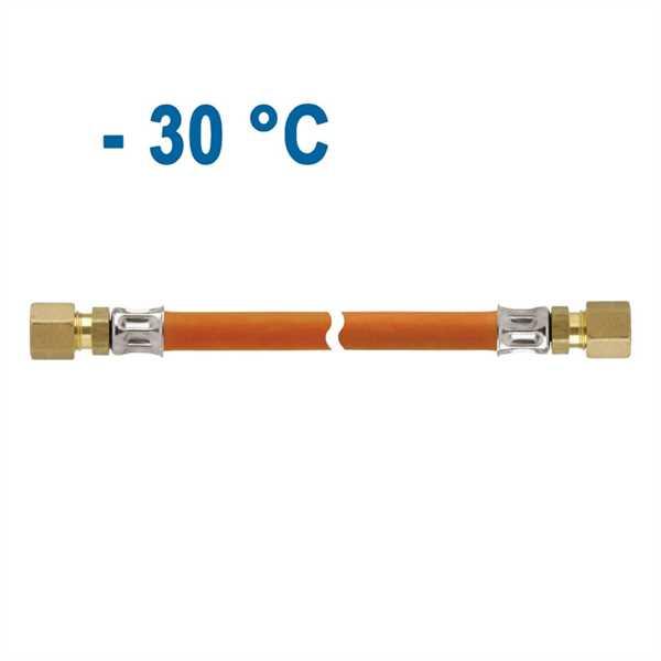Mitteldruck-Schlauchleitung PS 10 bar RVS 8 x RVS