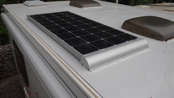 ECO SolarAnlage 110 Wp Mono