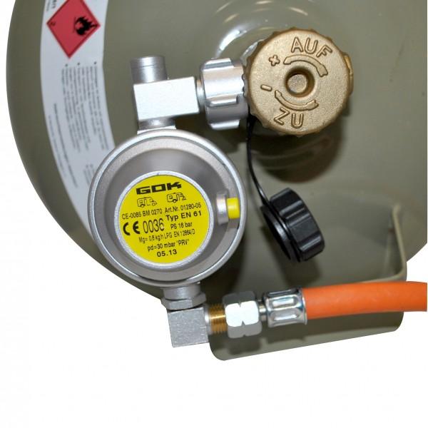 Gasdruckregler U-Form SB-verpackt