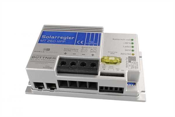 MT-Solarregler MPP 260