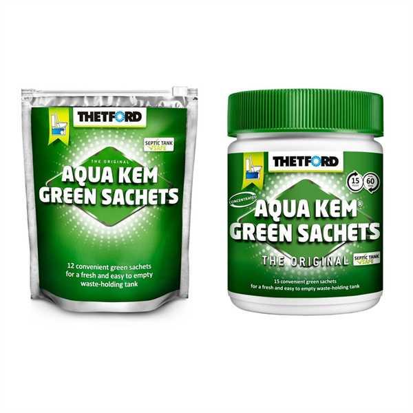 Aqua Kem Green Sachets 15 Sachets