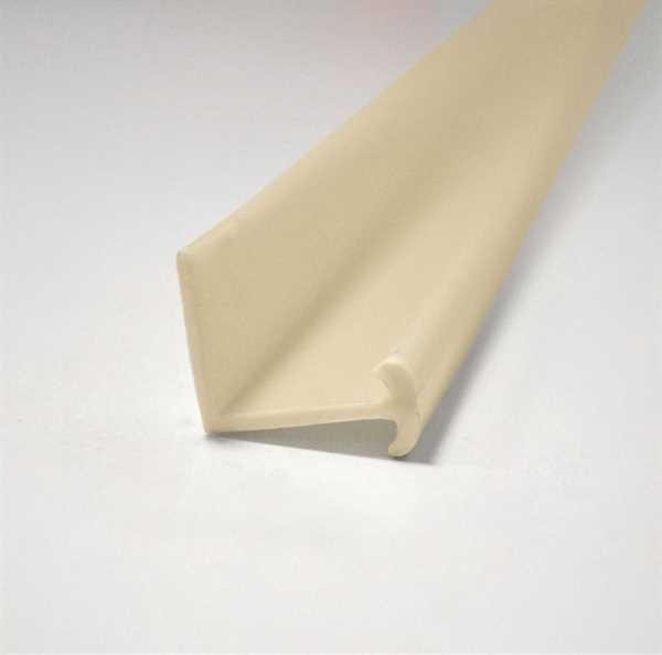Gardinenleiste aus Kunststoff 2,5 m Stück