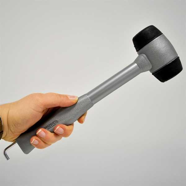 Kunststoffhammer 34 cm lang