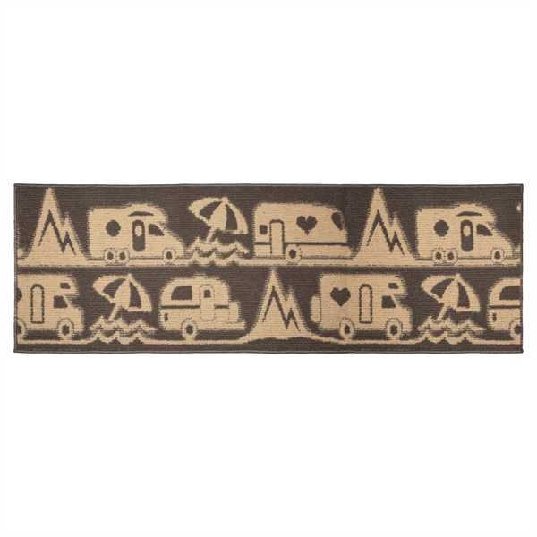 Teppich Master Camp braun, 50 x 100 x 1 cm