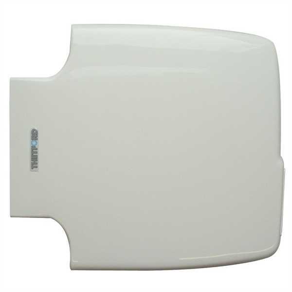 Toilettensitz mit Deckel edelweiß für Porta Potti